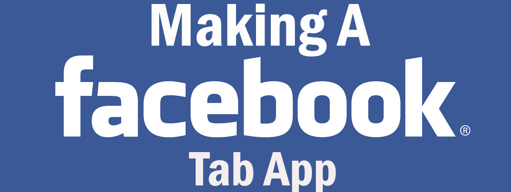 Making a facebook tab app